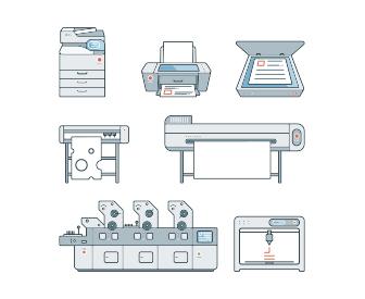 צי מדפסות, מכונות הדפסה קוניקה מינולטה, מכונות הדפסה ריסו, פתרונות הדפסה, פתרונות סריקה