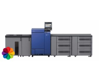 תעשייתית צבעונית 1, מכונות הדפסה משולבות ש