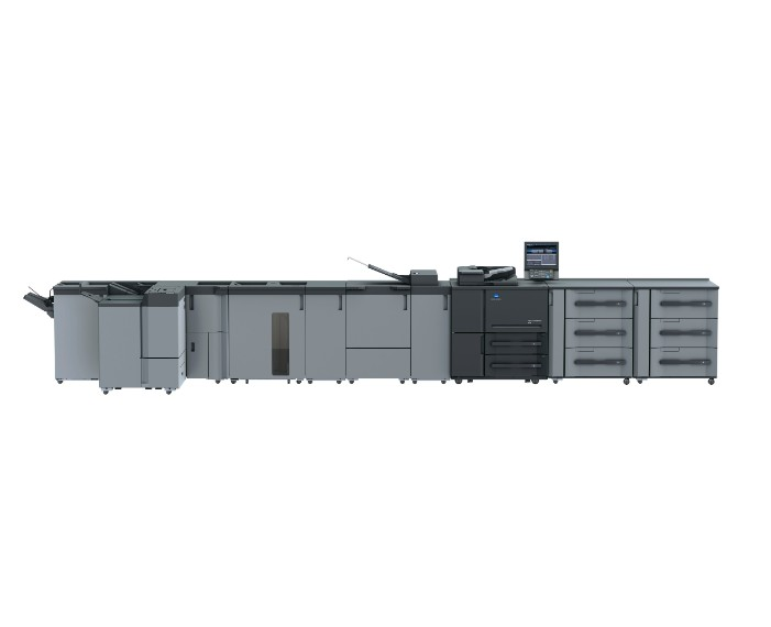 AccurioPress 6136 studio picture 07 2xPF 710 RU 518 IQ 501 RU 510 LS 506 SD 513 FS 532, מכונות הדפסה תעשייתיות ש
