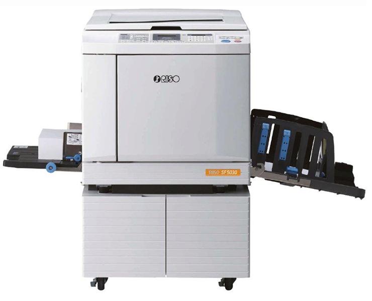 RISO sf5030 2, מכונות שכפול, מכונות שכפול A3, מכונות שכפול A4, מכונת שכפול A3
