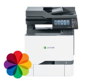 cx725, מכונות צילום, מדפסות משולבות מומלצות, מדפסות לייזר לעסק, מדפסות לקסמרק