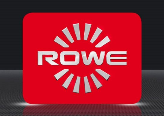 rowe logo, מדפסות לייזר צבע, מכשיר כריכה ספירלי, מדפסות לייזר צבעוניות, מדפסות לייזר למשרד